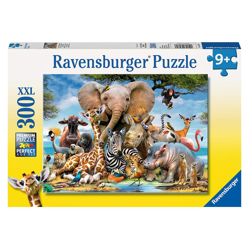 Ravensburger Puzzle 300 pc African Friends
