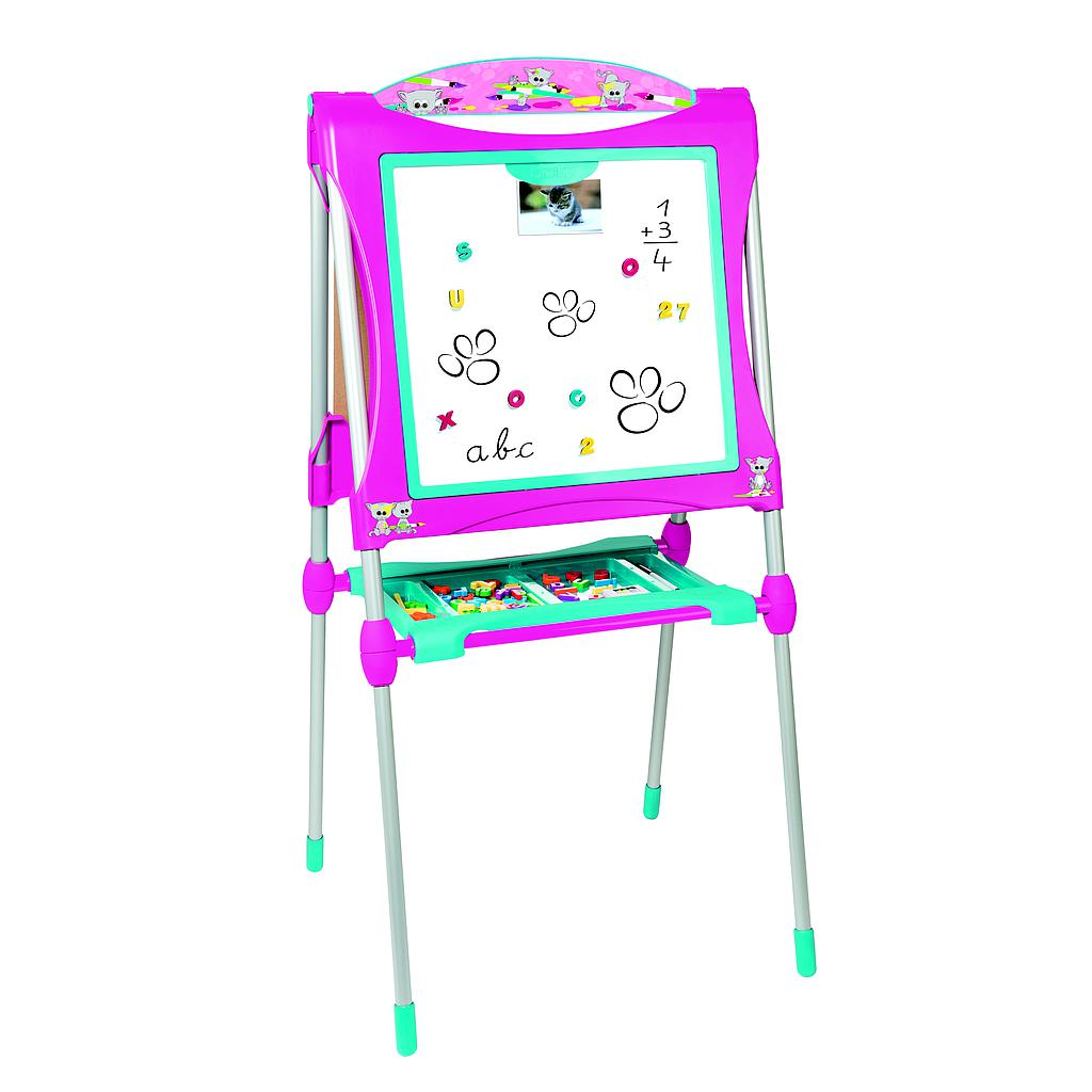 Smoby Easel Plastic Board, Pink