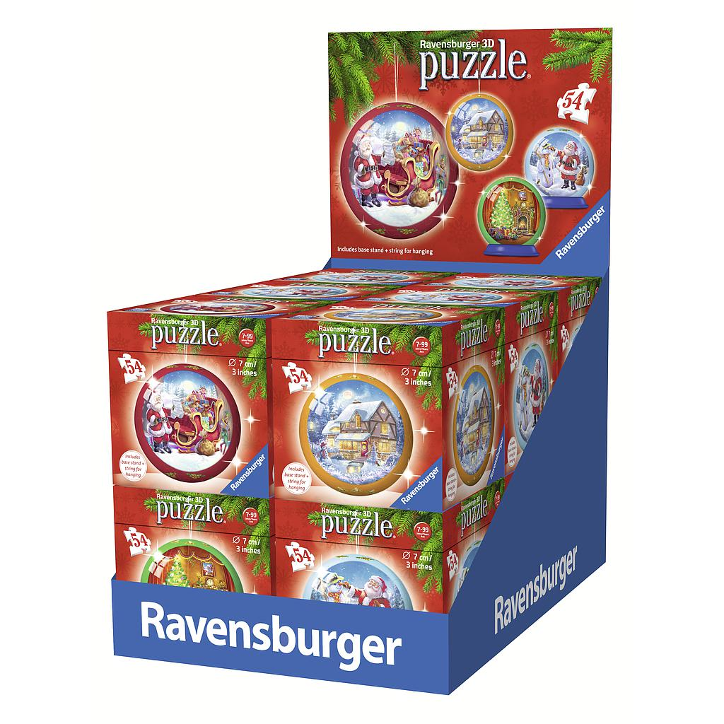 Ravensburger 3D Puzzle Ball 54 pc Christmas