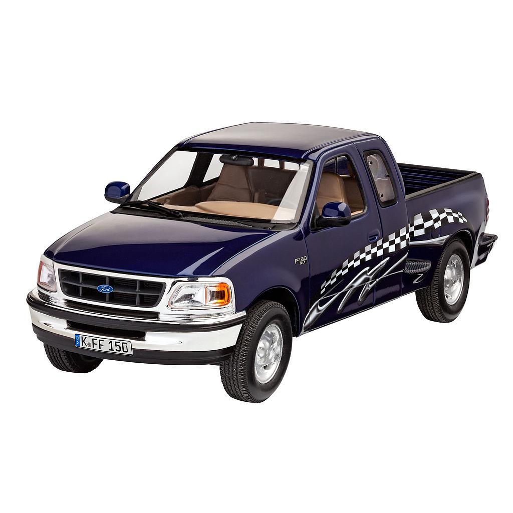 Revell plastic model '97 Ford F-150 XLT 1:25
