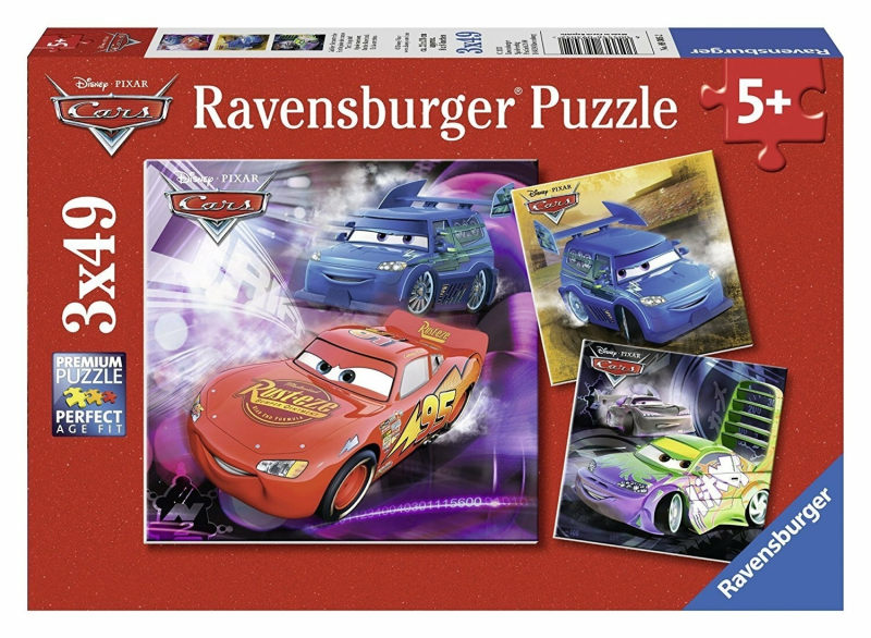 Ravensburger Puzzle 3x49 pc Cars