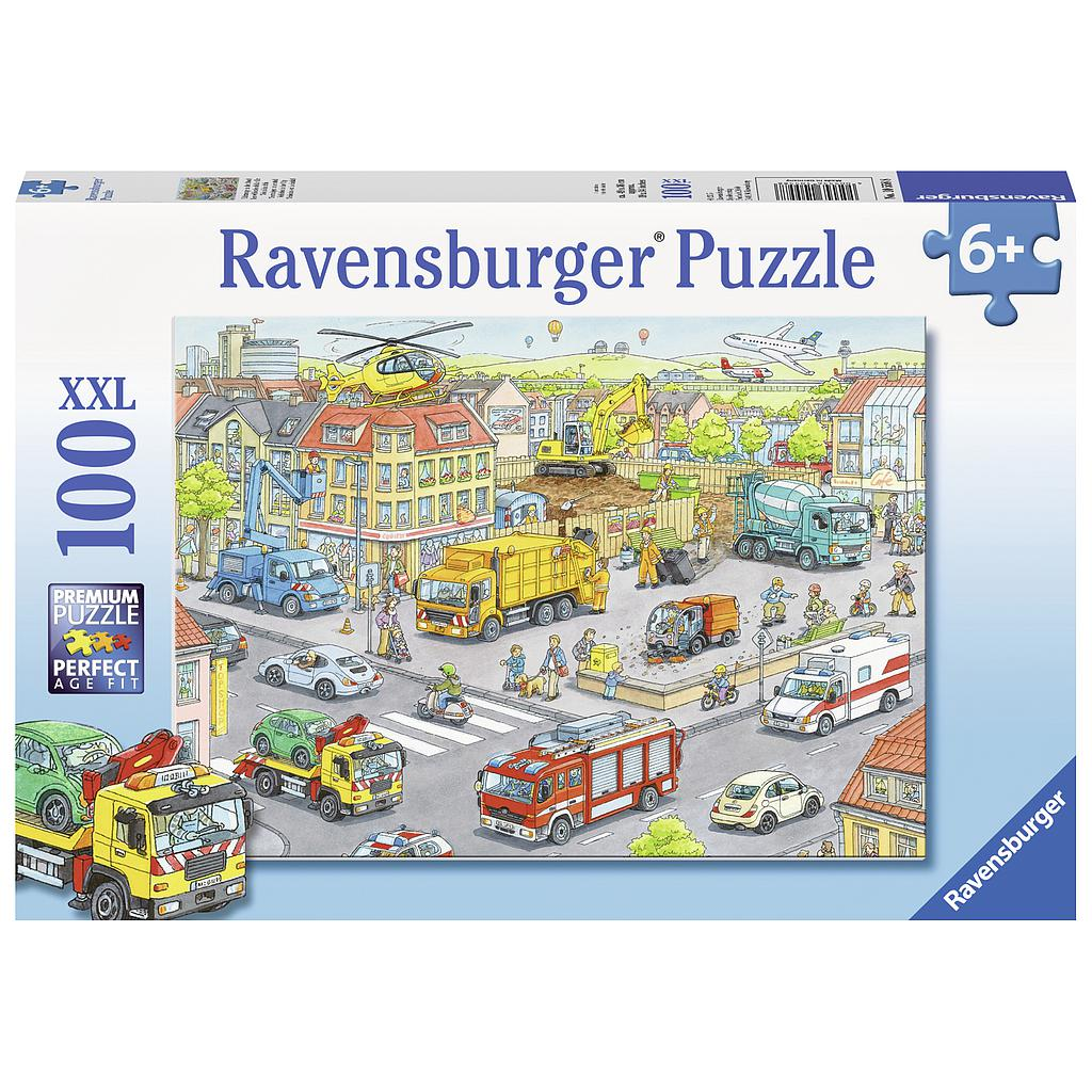 Ravensburger Puzzle 100 pc Vehicles in the City