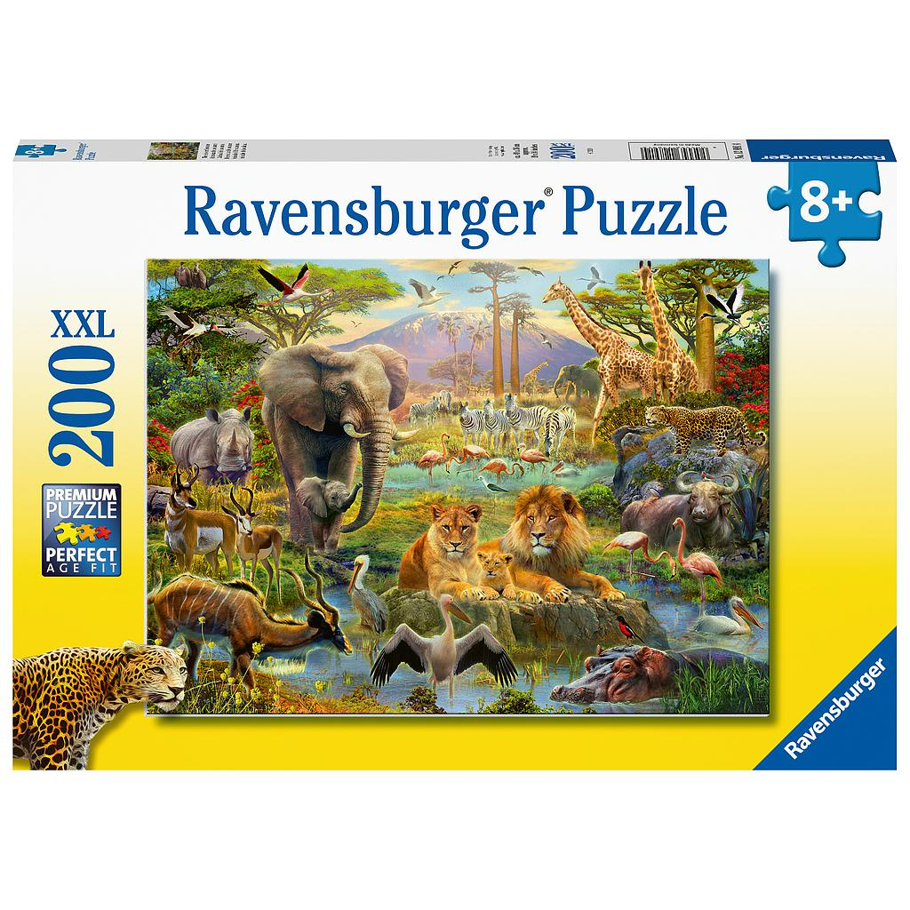 Ravensburger XXL Puzzle 200 pc Animals of the Savanna