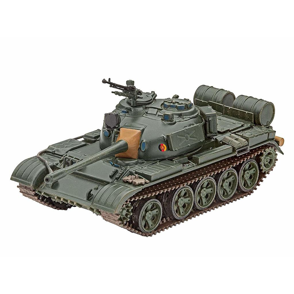 Revell plastic model T-55 A/AM 1:72