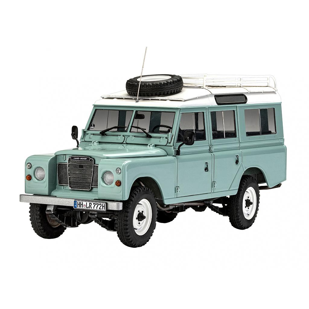 Revell plastic model Land Rover Series III 1:24