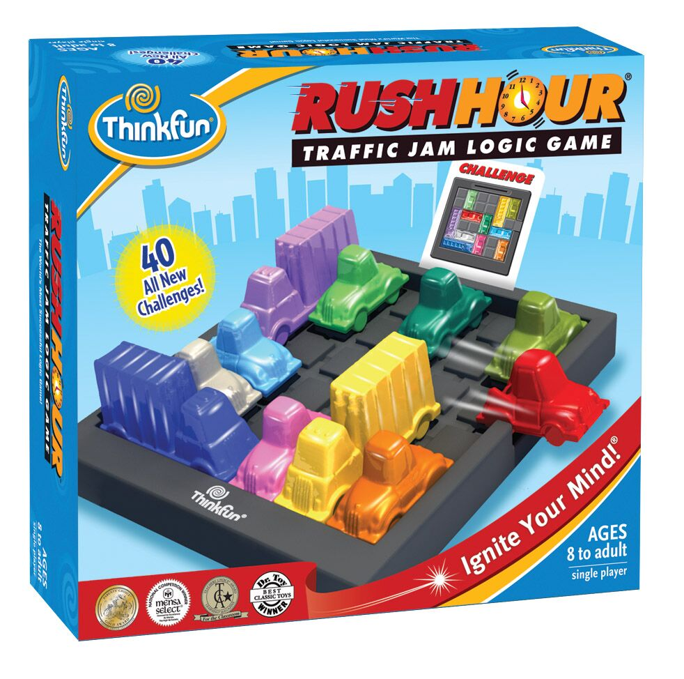 ThinkFun board game Rush Hour