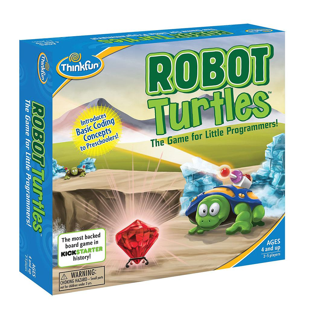 ThinkFun board game Robot Turtles