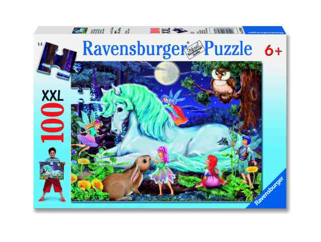 Ravensburger Puzzle 100 pc Enchanted Forest