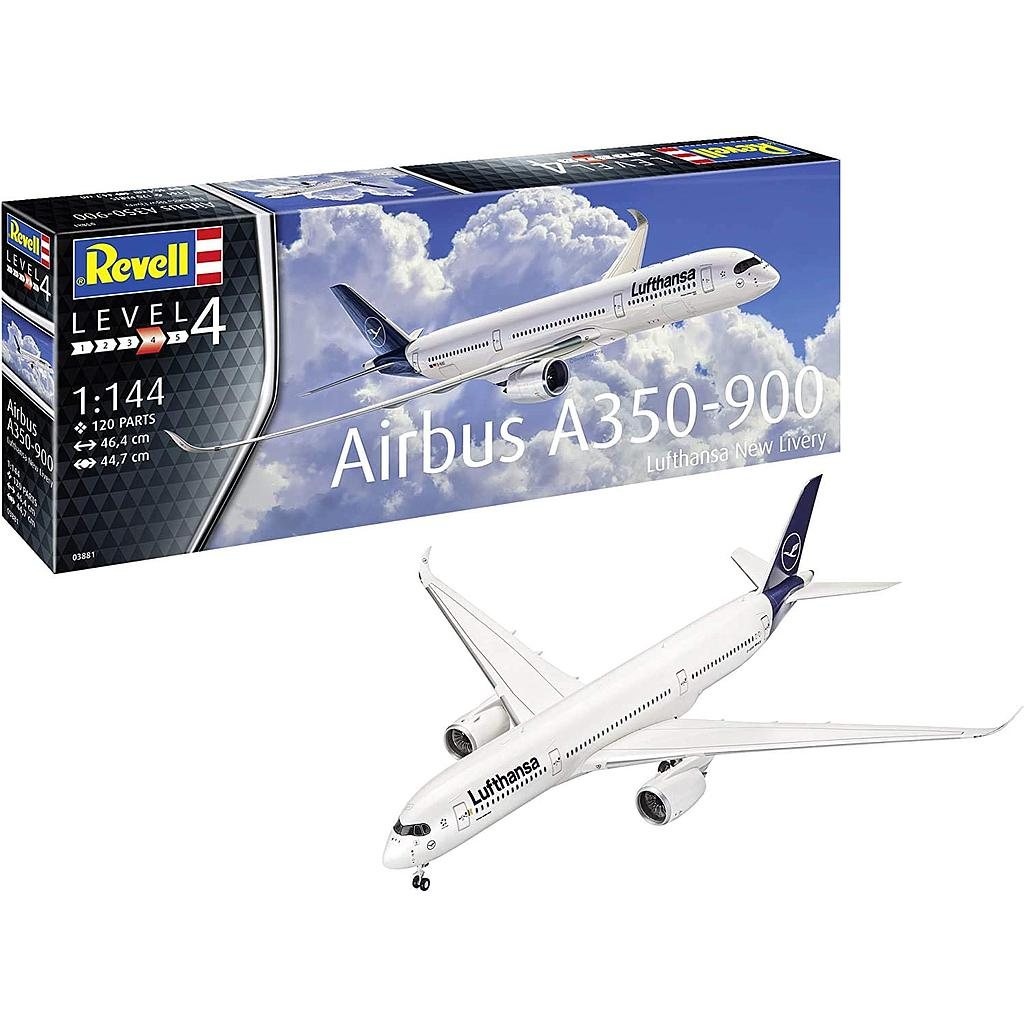 Revell plastic model Airbus A350-900 Lufthansa