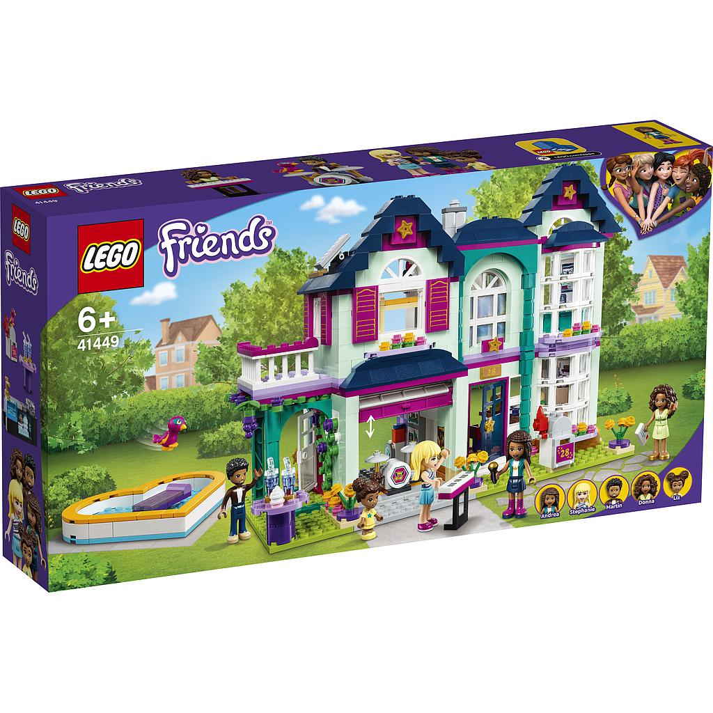LEGO Friends Andrea's Family House