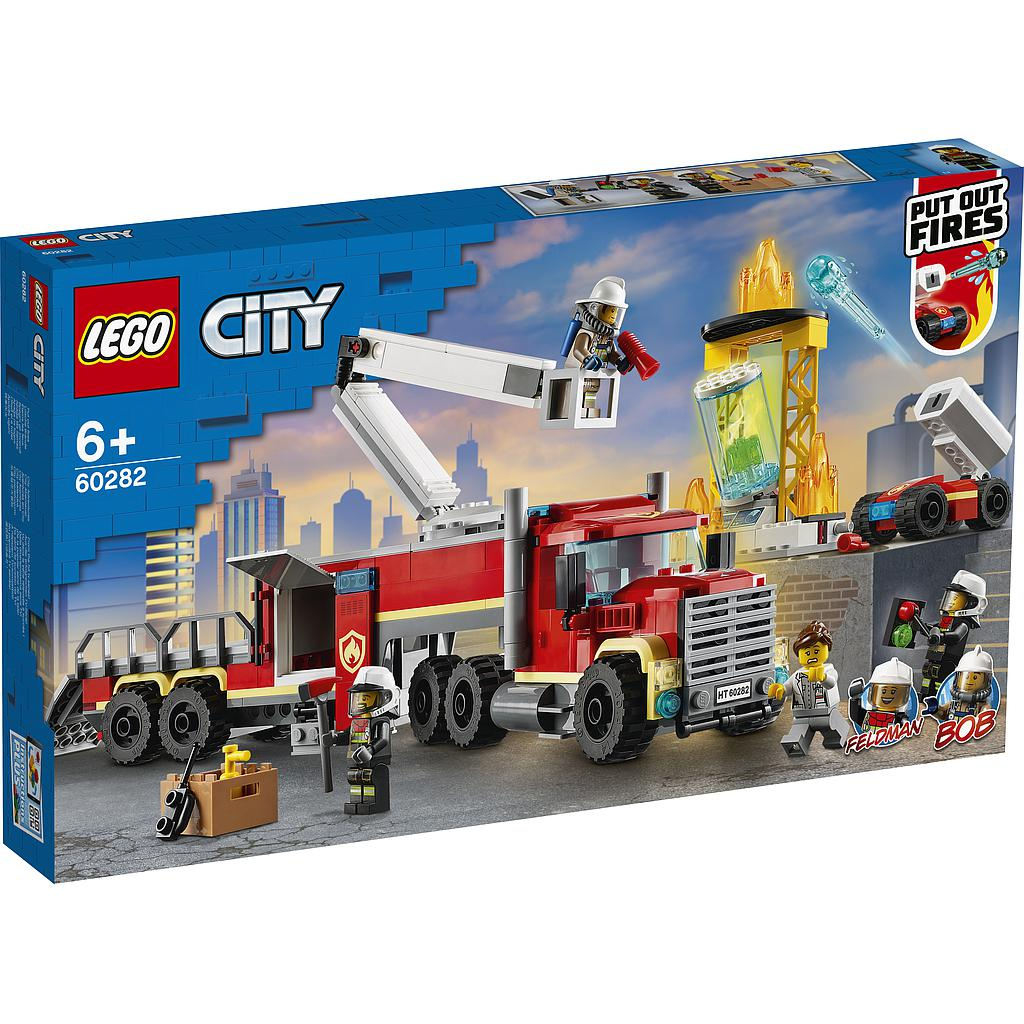 LEGO City Fire Command Unit