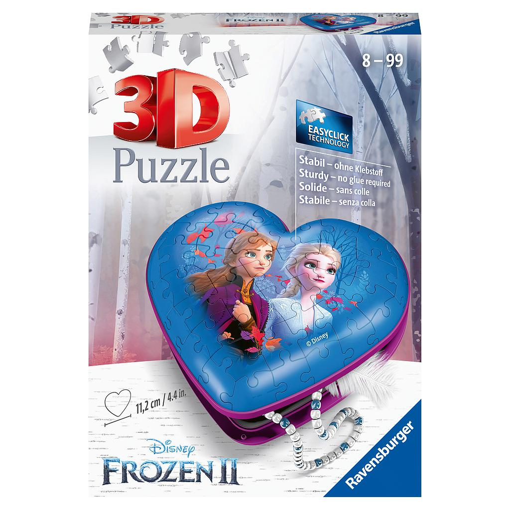 Ravensburger 3D Puzzle Heart Box Frozen 2