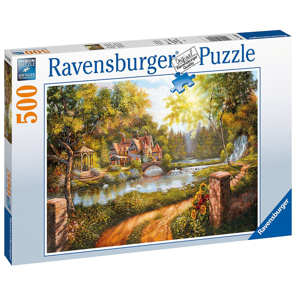 Ravensburger Puzzle 500 pc Country House