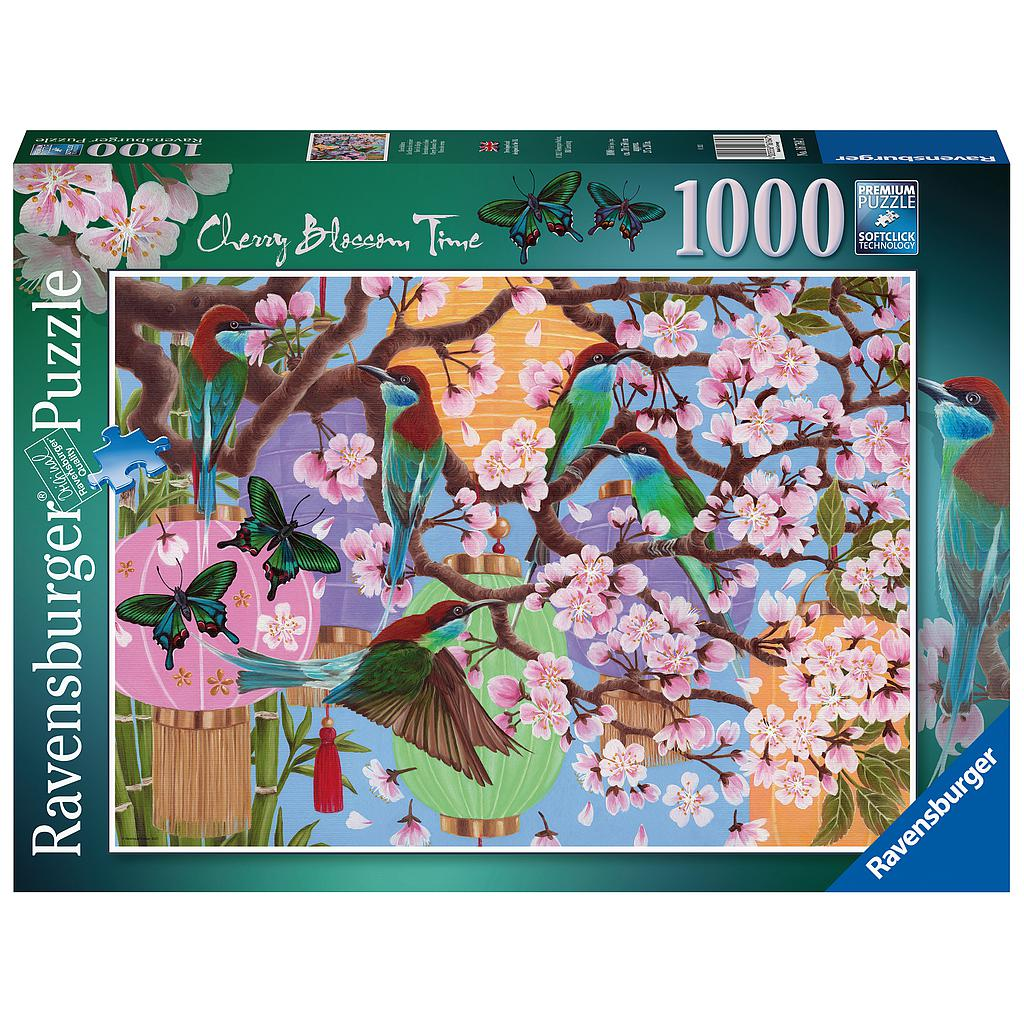 Ravensburger Puzzle 1000 pc Cherry Blossom Time