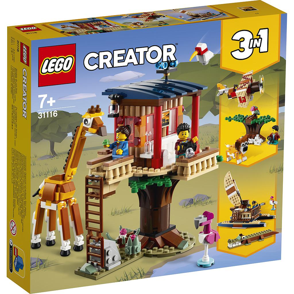 LEGO Creator Safari Wildlife Tree House