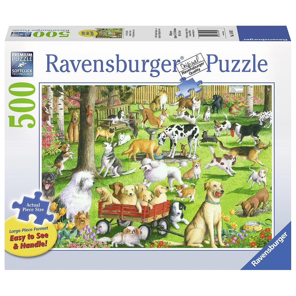 Ravensburger Puzzle 500 pc At the Dog Park