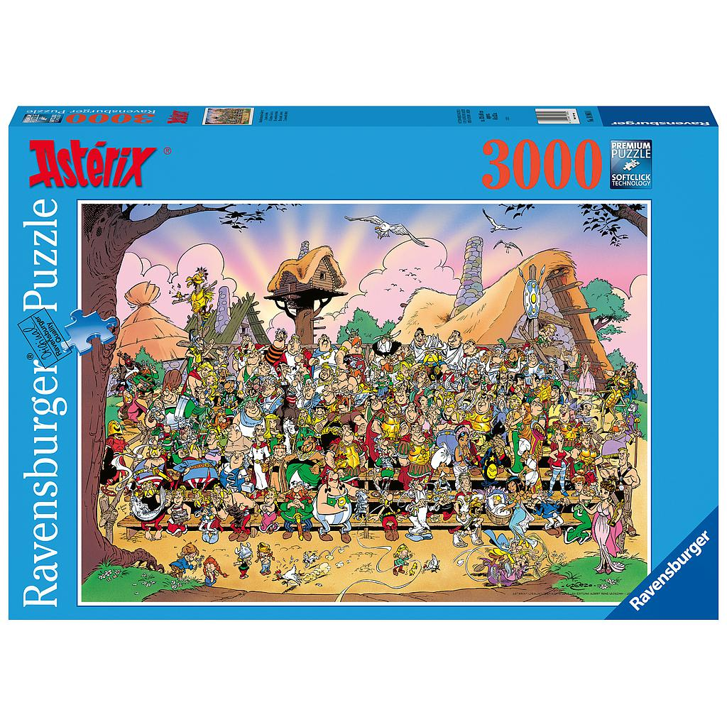 Ravensburger Puzzle 3000 pc The Universe of Asterix