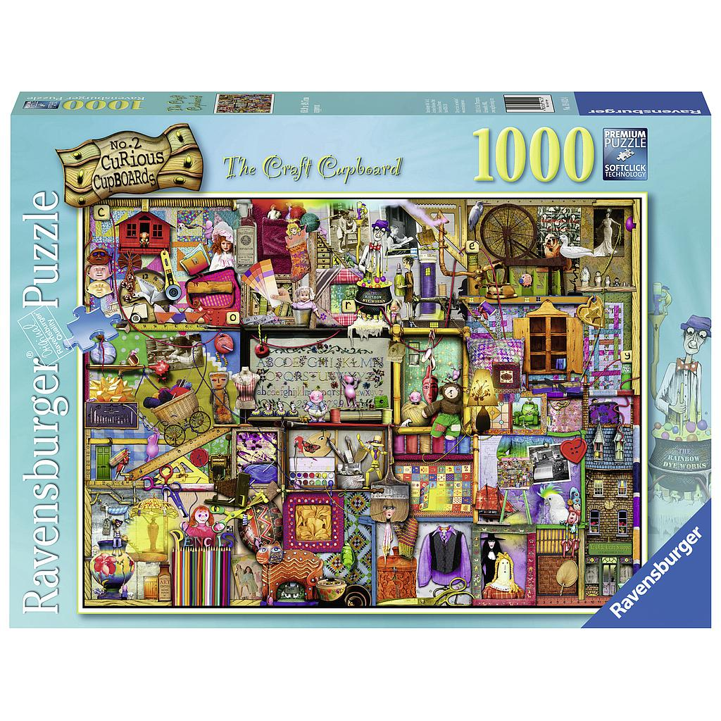 Ravensburger Puzzle 1000 pc The Craft Cupboard