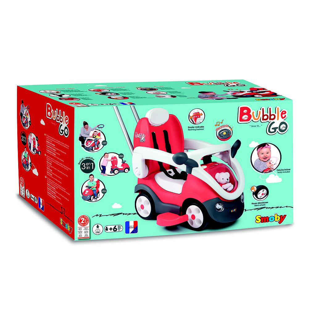 SMOBY BUBBLE GO ORIGINAL RIDE-ON