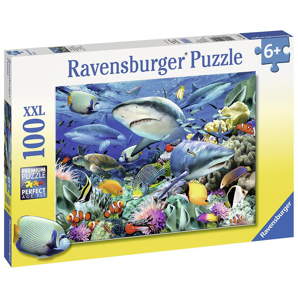 Ravensburger Puzzle 100 pc Reef of the Sharks
