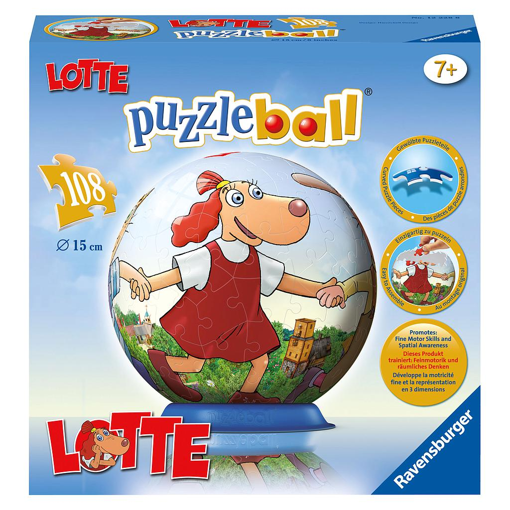 Ravensburger 3D Puzzle Ball 108 pc Lotte